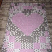 Лоскутное одеяло Сердце