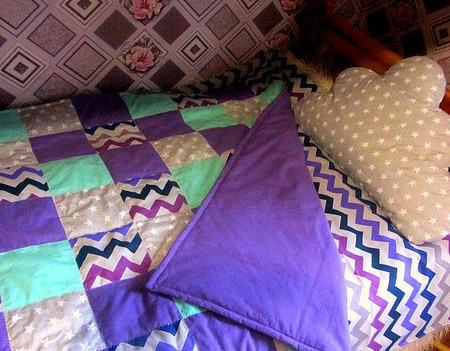 Детское одеяло, комплект постельное белье ручной работы на заказ