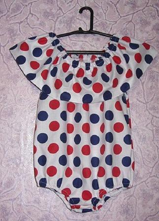 Модный песочник-боди для девочки ручной работы на заказ