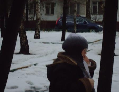 """Шапка-шлем """"В зимних тонах"""" ручной работы на заказ"""