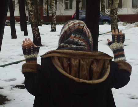 """Комплект """"Все цвета зимы"""" ручной работы на заказ"""