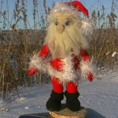 Взаная игрушка Дед Мороз