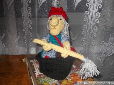 Баба - яга ручной работы на заказ