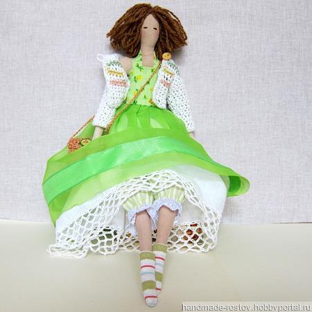 Кукла Тильда «Весна» ручной работы на заказ