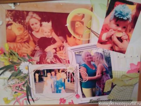 Коллажи и календари с Вашими фото ручной работы на заказ