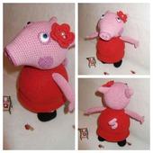 Свинка Пеппа в платье