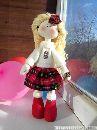 Снежка-штландка ручной работы на заказ
