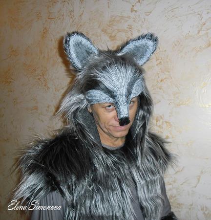 """Костюм карнавальный """"Волк"""" взрослый к мюзиклу Красная шапочка ручной работы на заказ"""