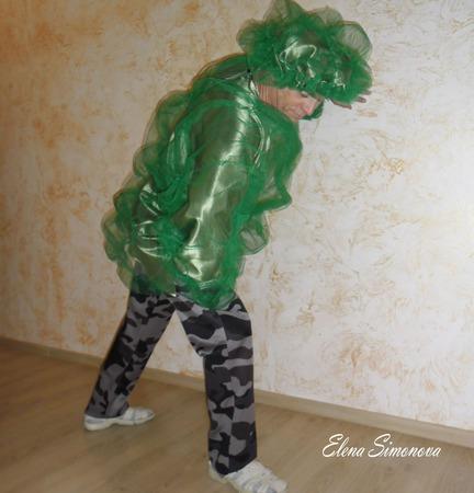"""Костюм карнавальный """"Дуб"""" взрослый к мюзиклу Красная шапочка ручной работы на заказ"""