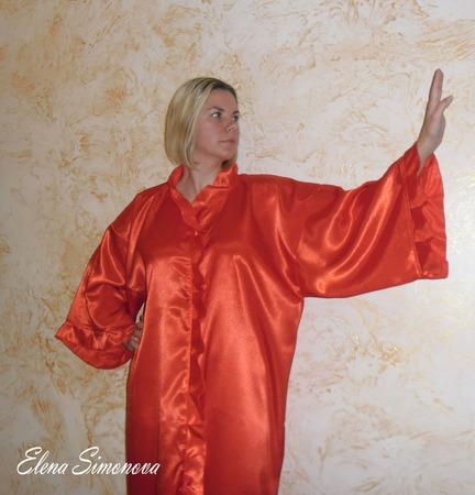 Пеньюар или ночная сорочка  (два в одном) ручной работы на заказ
