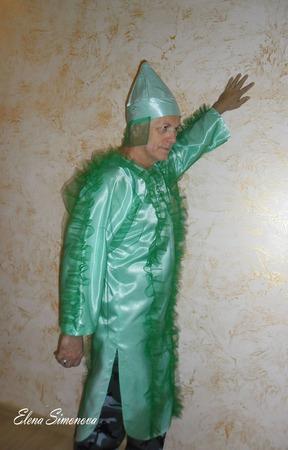 """Карнавальный костюм """"Тополь"""" взрослый к мюзиклу Красная шапочка ручной работы на заказ"""