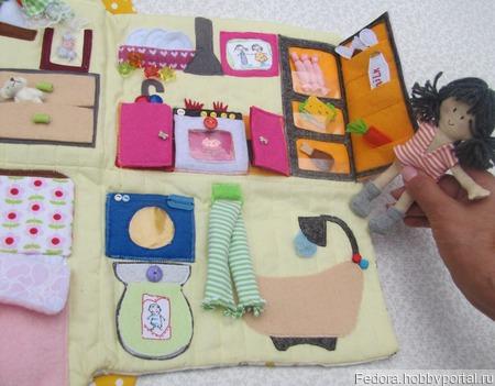 Сумочка домик ручной работы на заказ