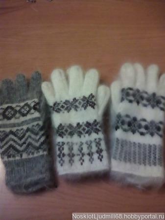 Перчатки женские ручной работы на заказ