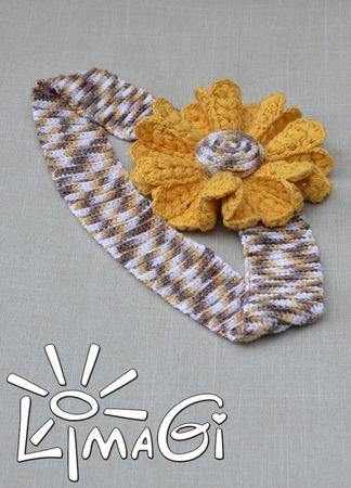 """Цветок """"Таира"""" - описание вязания ручной работы на заказ"""