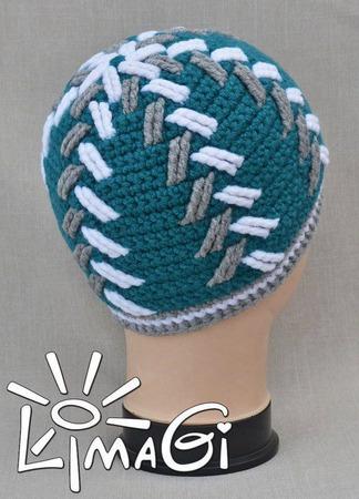 """Шапочка """"Эхо"""" - описание вязания ручной работы на заказ"""