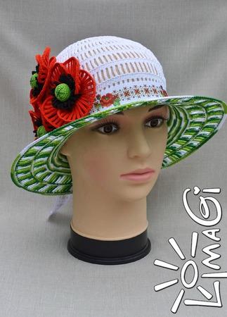 """Шляпа """"Пьянящая степь"""" - описание вязания ручной работы на заказ"""