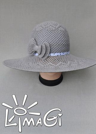 """Шляпа """"Молчание"""" - описание вязания ручной работы на заказ"""