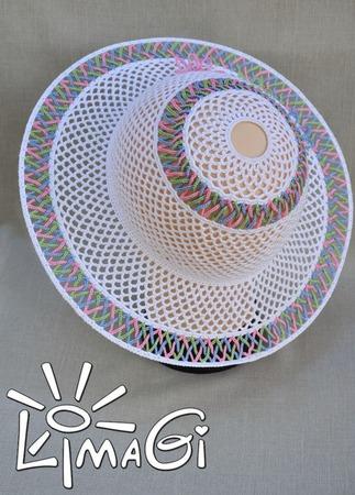 """Шляпа """"Трио"""" - описание вязания ручной работы на заказ"""