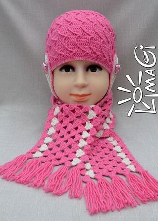 """Шарф """"Тысяча сердец"""" - описание вязания ручной работы на заказ"""