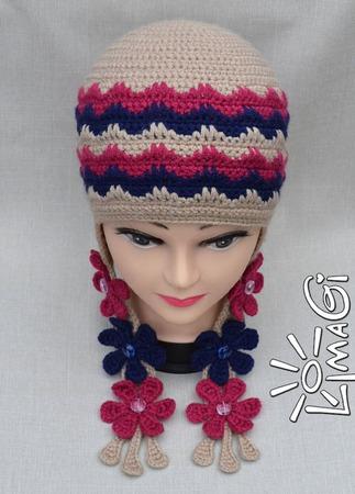 """Шапочка """"Герда"""" - описание вязания ручной работы на заказ"""