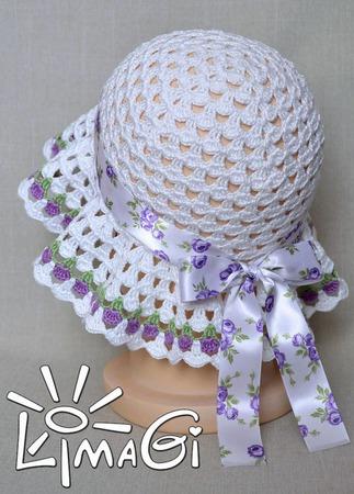 """Панамка """"Бутончики"""" - описание вязания ручной работы на заказ"""