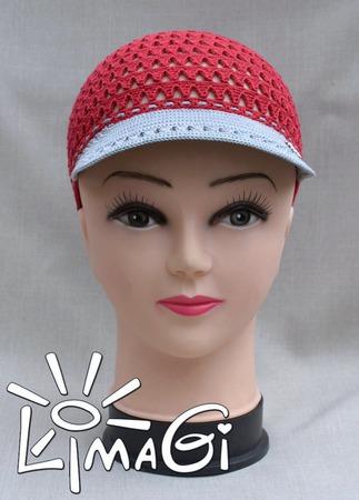 """Кепка """"Уголек"""" - описание вязания ручной работы на заказ"""