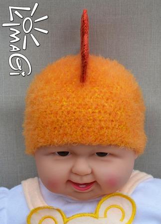 """Шапочка """"Петушиный ирокез"""" - описание вязания ручной работы на заказ"""