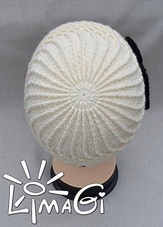 """Шапка """"Беатрис"""" - описание вязания ручной работы на заказ"""