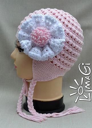"""Шапочка """"Маршмэллоу"""" - описание вязания ручной работы на заказ"""