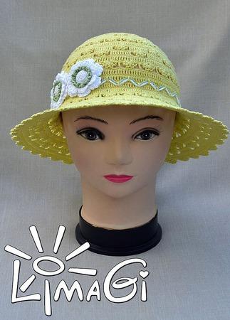 """Шляпка """"Солнечные капельки"""" - описание вязания ручной работы на заказ"""