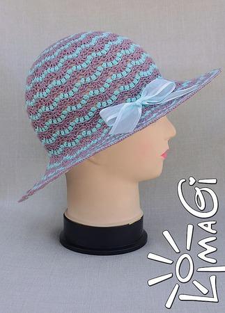"""Шляпка """"Вероника"""" - описание вязания ручной работы на заказ"""