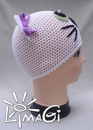 """Шапочки """"Зеленоглазка"""" - описание вязания ручной работы на заказ"""