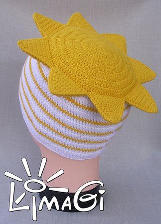 """Шапочка """"Солнышко"""" - описание вязания ручной работы на заказ"""