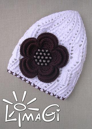 """Шапочка """"Карина"""" - описание вязания ручной работы на заказ"""