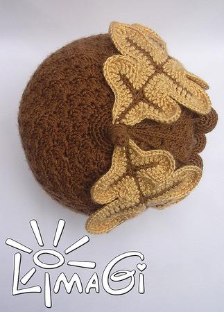 """Кепка """"Стиляга Желудь"""" - описание вязания ручной работы на заказ"""