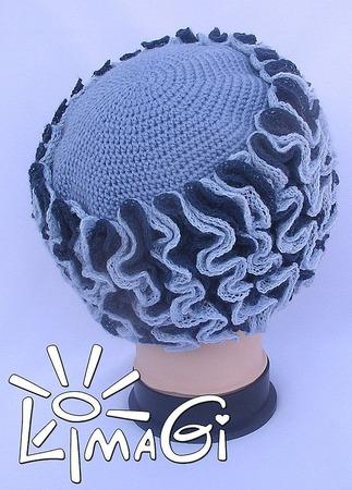 """Шапка """"Северное море"""" - описание вязания ручной работы на заказ"""