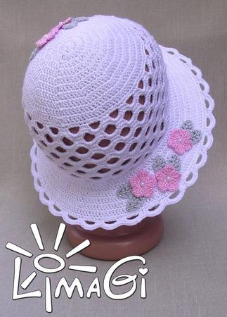 """Шляпка """"Безмятежность"""" - описание вязания ручной работы на заказ"""
