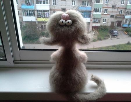 """Мастер-класс по коту """"Шухеру"""" описание вязания ручной работы на заказ"""