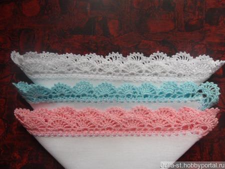 Платочки кружевные (набор подарочный) ручной работы на заказ
