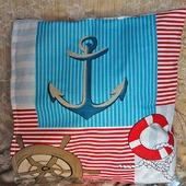 Подушка Морская (подушка Совушка)
