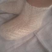 Пуховые носки женские (урюпинский козий пух)