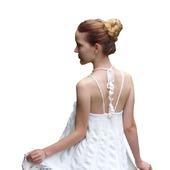фото: Одежда (вязаный белый сарафан)