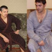 фото: Одежда (вязаный халат)