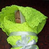 Покрывало / плед для новорожденного