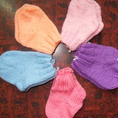 Носочки детские в роддом