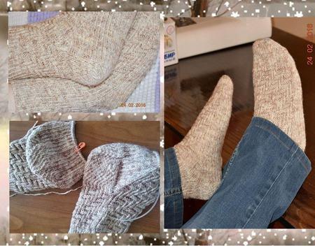 Носки для холодной зимы ручной работы на заказ