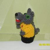 Волк пальчиковая игрушка