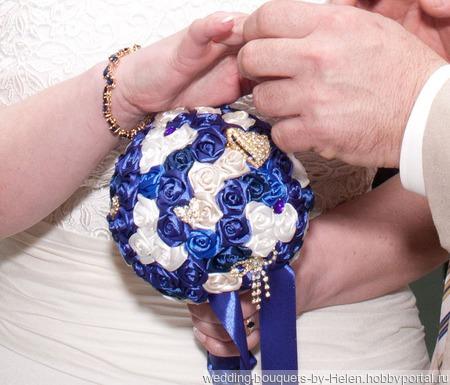 Свадебный букет ручной работы на заказ