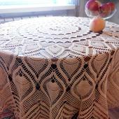 Скатерть на круглый стол