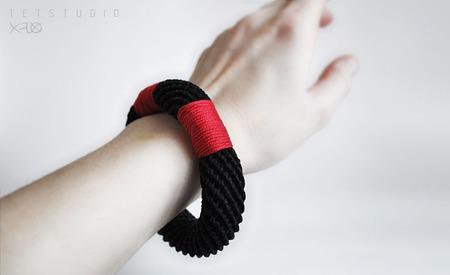 Комплект Красное и Черное ручной работы на заказ